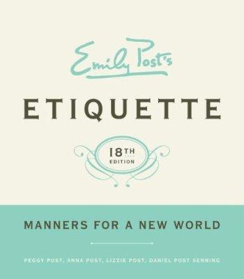 Emily Post Etiquette Book