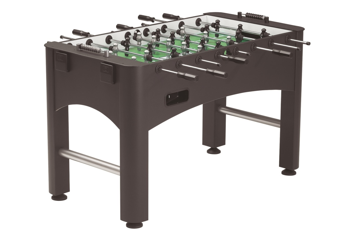 Beyond billiards foosball game on - Who invented table football ...