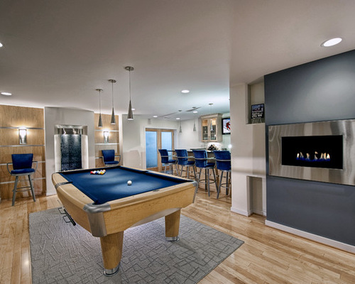 Basement Inspiration Movies Workouts And Billiards