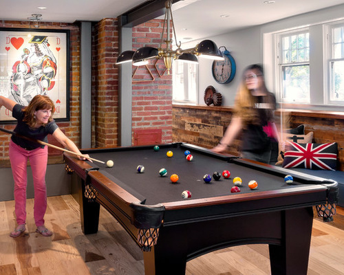 Game On - Industrial style pool table